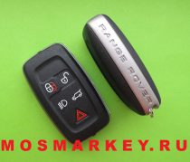 Land Rover ORIGINAL smart key, 433Mhz, 5 кнопок