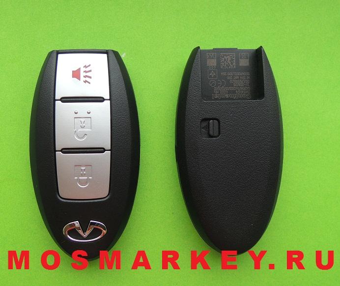 Infiniti электронный ключ зажигания(смарт ключ) - 433Mhz, 3 кнопки.