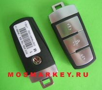 ОРИГИНАЛ VW magotan smart remote key 3 button (433MHZ) ID48