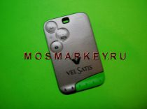 ОРИГИНАЛ Renault VelSatis  smart card - 433Mhz- 3 кнопки