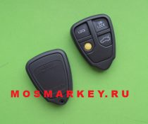 Volvo 4 - button remote key shell