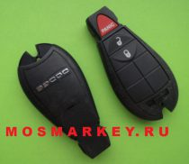 Chrysler smart key 433 Mhz (2 + 1) button