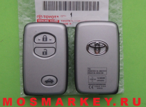 TOYOTA CAMRY - original smart key(смарт ключ) 433Mhz, 3 кнопки