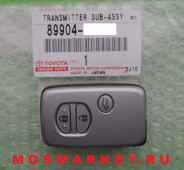 TOYOTA LAND CRUISER PRADO 150 -  original smart key(смарт ключ) 433Mhz, 3 кнопки