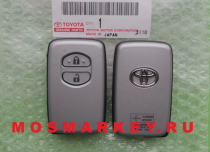 TOYOTA LAND CRUISER 200 - original smart key(смарт ключ)  433Mhz, 2 кнопки