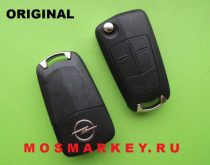 ORIGINAL remote  key for OPEL CORSA D 433 MHZ, HU 100, 2 кнопки