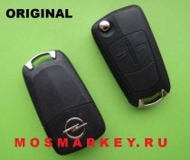 ORIGINAL remote  key for OPEL VECTRA C, Signum, 433 MHZ, HU 100, 2 кнопки, PCF 7946