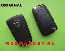 ORIGINAL remote  key for OPEL ASTRA H, ZAFIRA, 433 MHZ, HU 100, 2 кнопки, PCF 7941