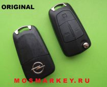 ORIGINAL remote  key for OPEL VECTRA C, Signum, 433 MHZ, HU 100, 3 кнопки