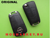 ORIGINAL remote key for OPEL CORSA C - 433 MHZ, HU 100, 2 кнопки