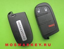 Dodge Journey smart key - 433Mhz, 2+1 кнопки
