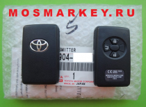 TOYOTA COROLLA - original smart key(смарт ключ) 433Mhz, 3 кнопки