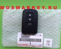 TOYOTA RAV4 - original smart key(смарт ключ) 433Mhz, 3 кнопки