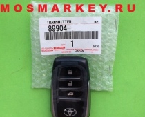 TOYOTA CAMRY 55 - original smart key(смарт ключ) 433Mhz, 3 кнопки